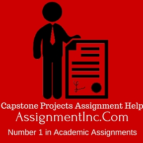 Capstone Projects Assignment Help