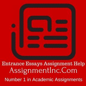 Entrance essay help