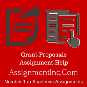 Grant Proposals Assignment Help