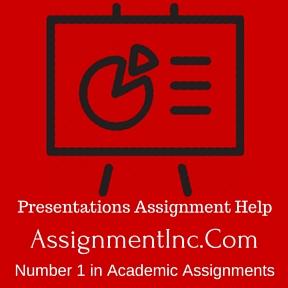 Presentations Assignment Help