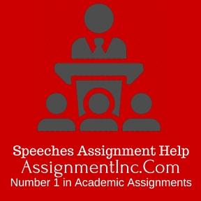 Speeches Asignment Help