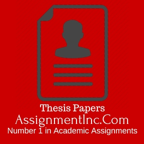 Thesis Papers