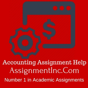 Accounting assignment