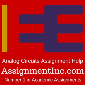 Analog Circuits Assignment Help