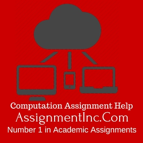 Computation Assignment Help