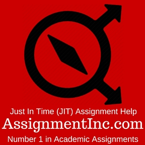 Just In Time (JIT) Assignment Help