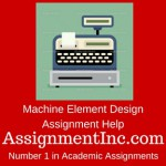Machine Element Design