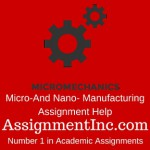 Micro-And Nano- Manufacturing