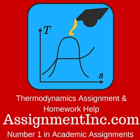 thermodynamics assignment help and homework help thermodynamics