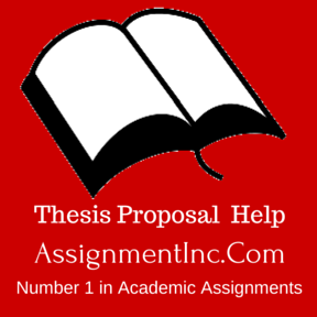 Thesis Proposal Help