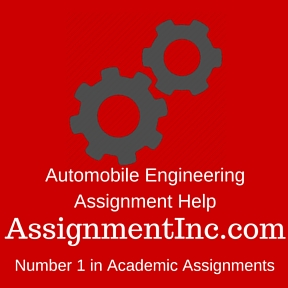 Automobile Engineering Assignment Help