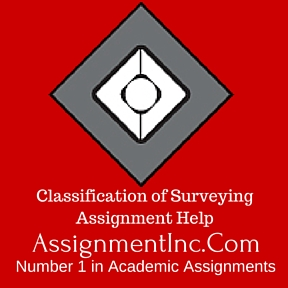 Classification of Surveying Assignment Help