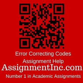Error Correcting Codes Assignment Help
