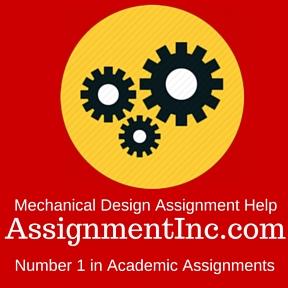 Mechanical Design Assignment Help
