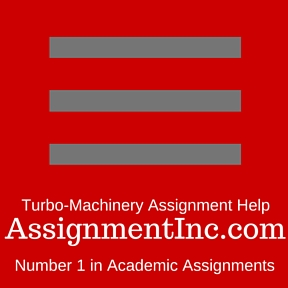 Turbo-Machinery Assignment Help