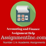 Accounting and Finance