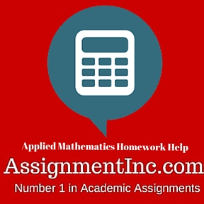 Applied Mathematics Homework Help