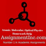 Atomic, Molecular, Optical Physics