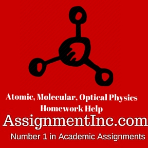Atomic, Molecular, Optical Physics Homework Help