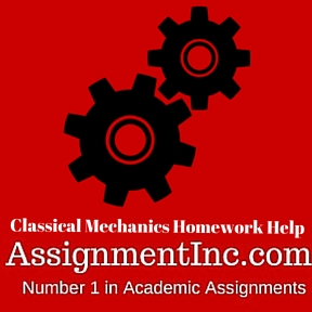 Classical Mechanics Homework Help