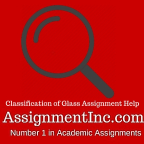 Classification of Glass Assignment Help