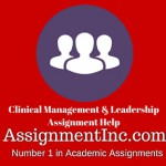 Clinical Management & Leadership
