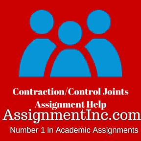 Contraction Control Joints Assignment Help