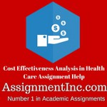 Cost Effectiveness Analysis in Health Care