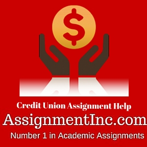 Credit Union Assignment Help