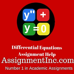 Differential Equations Assignment Help