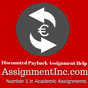 Discounted Payback Assignment Help