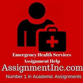 Emergency Health Services Assignment Help