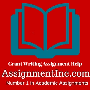 Grant Writing Assignment Help
