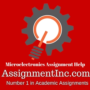 Microelectronics Assignment Help