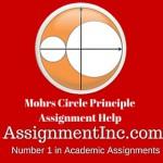 Mohrs Circle Principle
