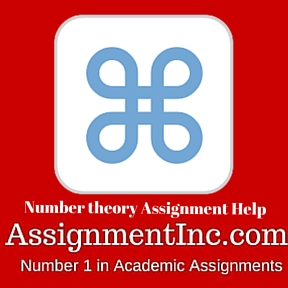 Number theory Assignment Help