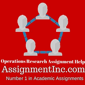 Operations Research Assignment Help