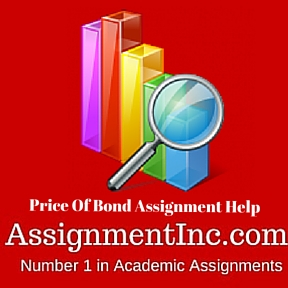 Price Of Bond Assignment Help