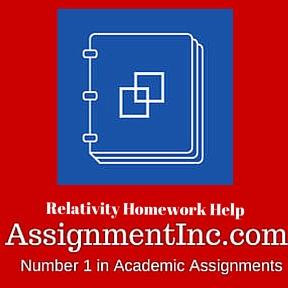 Relativity Homework Help