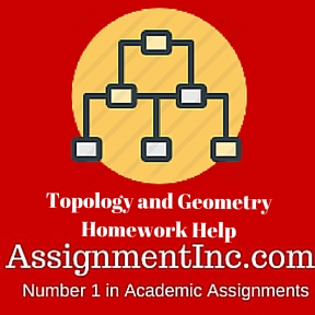 We offer you the best topology homework help