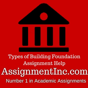 Types of Building Foundation Assignment Help
