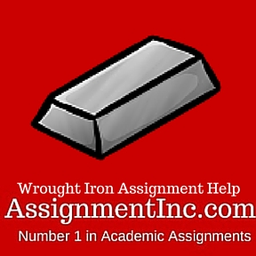 Wrought Iron Assignment Help