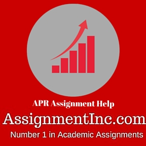 APR Assignment Help