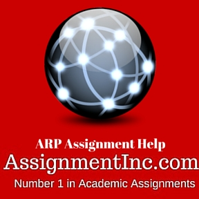 ARP Assignment Help