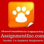 Advanced Animal Behavior