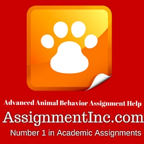 Advanced Animal Behavior Assignment Help