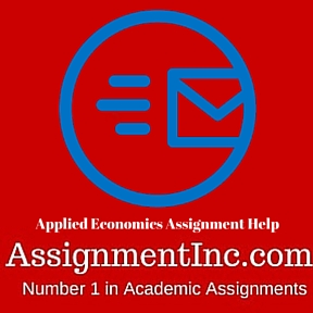 Applied Economics Assignment Help
