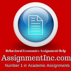 Behavioral Economics Assignment Help