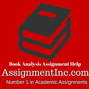 Book Analysis Assignment Help