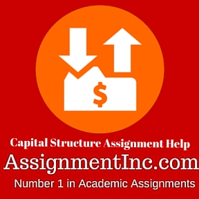 Capital Structure Assignment Help